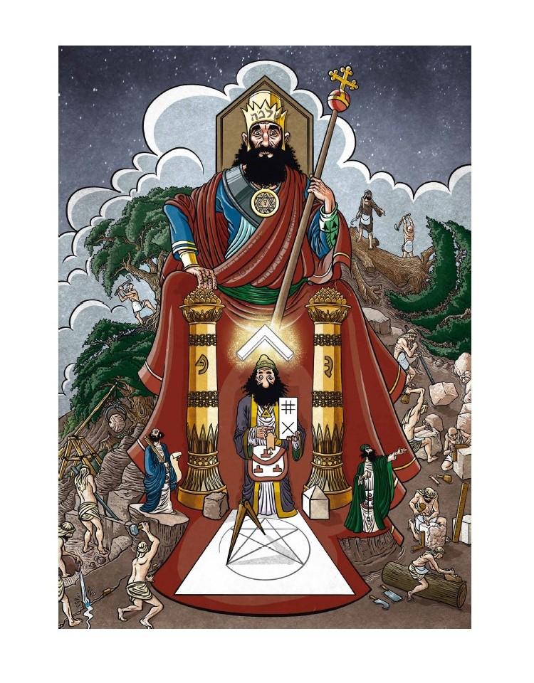 Affiche Hiram et le Roi Salomon