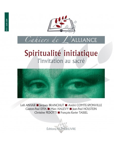 Les cahiers de l'Alliance N°3 - Spiritualité initiatique - Couverture