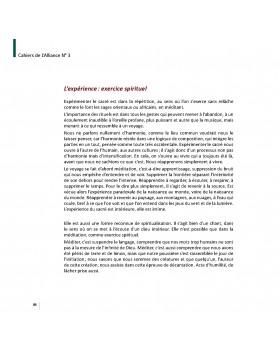 Les cahiers de l'Alliance N°3 - Spiritualité initiatique - Page 84