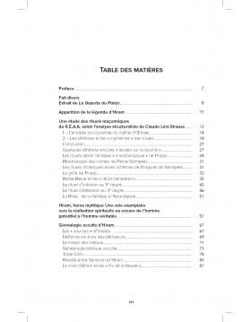"""Table des matières HIRAM...dans tous ses """"Etats"""" Page 1/2"""