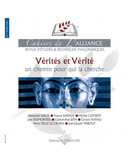 Couverture Les cahiers de l'Alliance N°5 - Vérités et Vérité