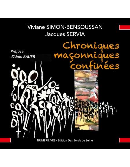 Couverture Chroniques maçonniques confinées
