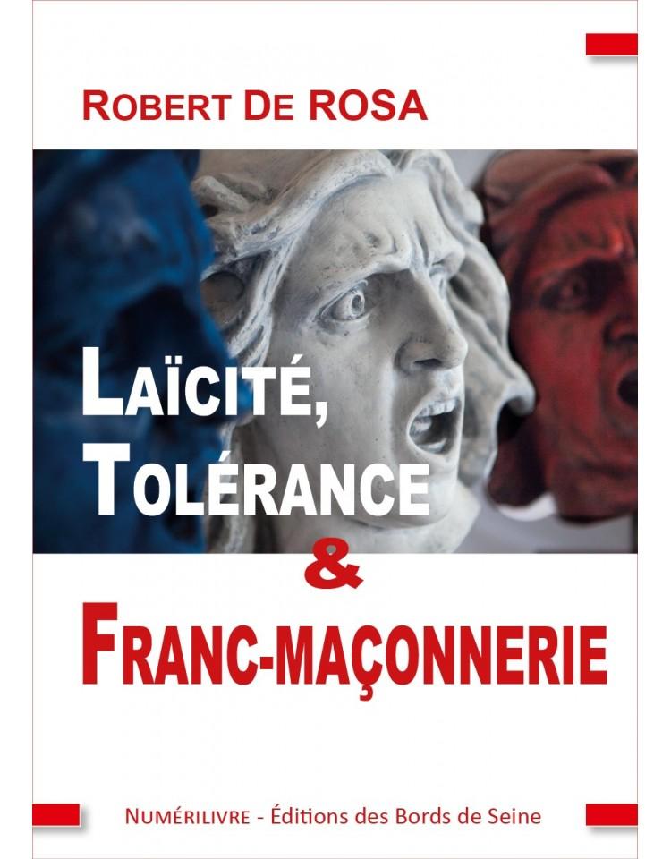 Couverture Laïcité, Tolérance et Franc-maçonnerie