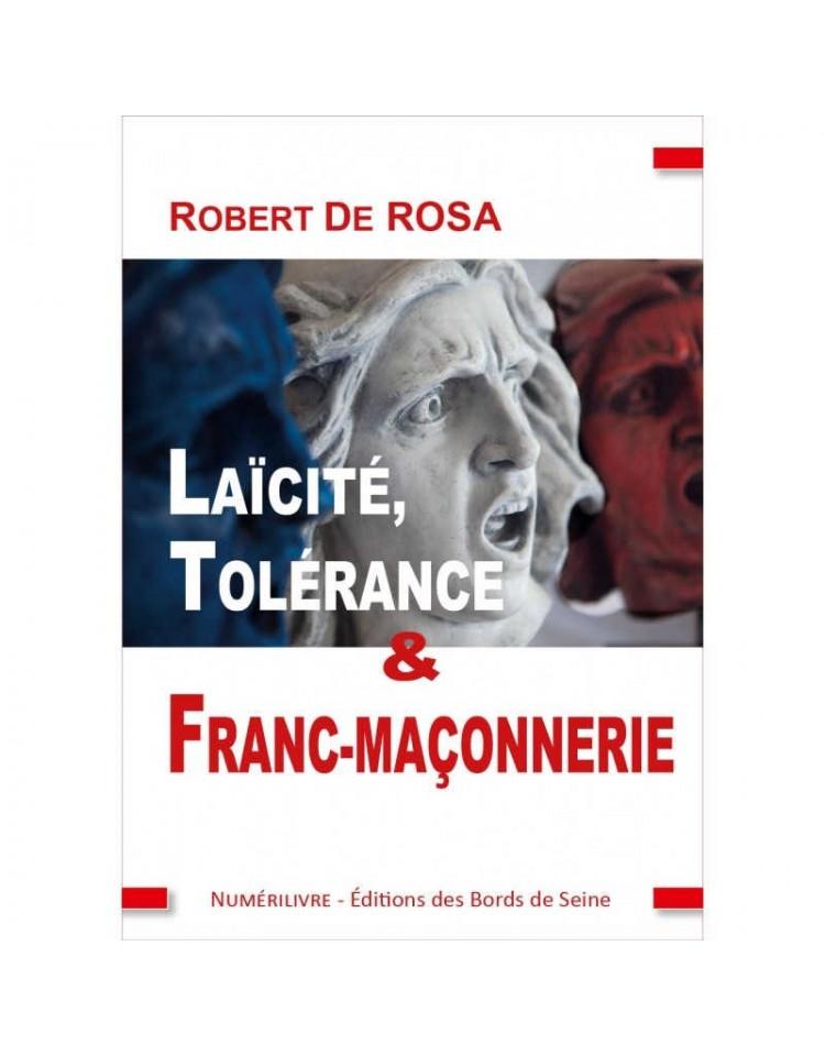 Couverture Laïcité, Tolérance et Franc-maçonnerie - (EBOOK)