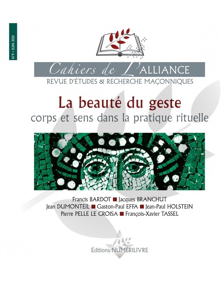 Les Cahiers de l'Alliance N°9 - La beauté du geste