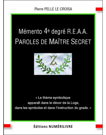 Paroles de Maître Secret